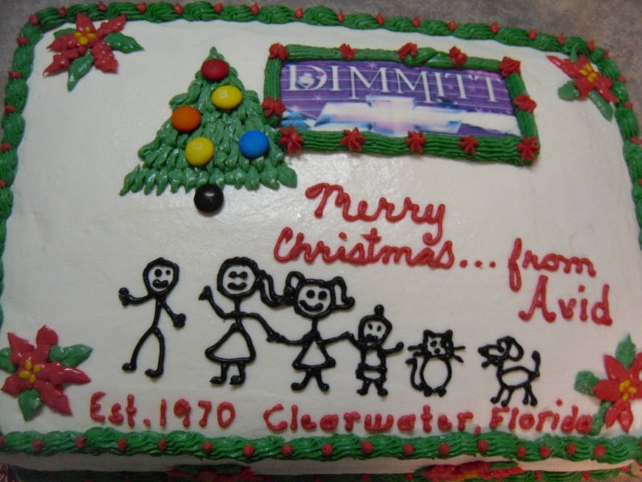 Christmas Lunch @ Dimmitt Chevrolet on Cake Central