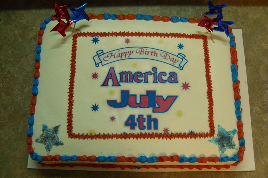 July 4Th on Cake Central