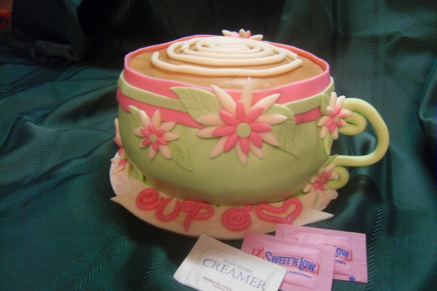 "Cup O"" Love on Cake Central"