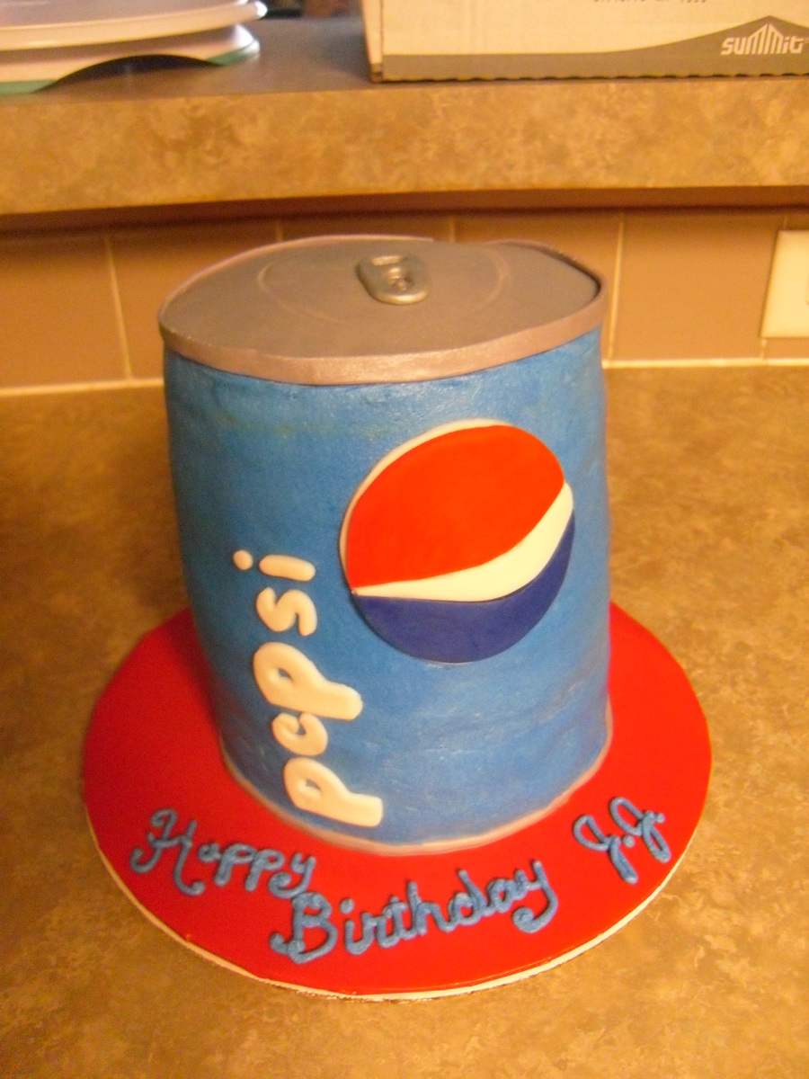 Pepsi Lover on Cake Central