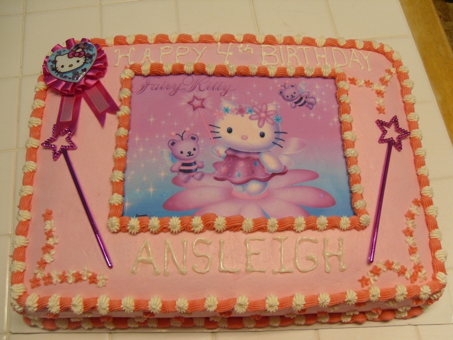 Fairy Kitty  on Cake Central