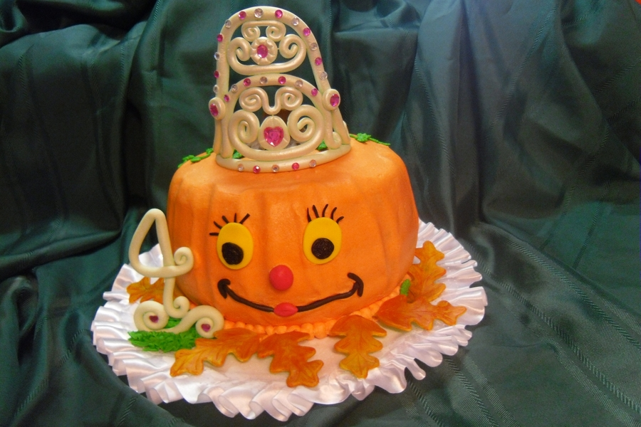 Pumpkin Princess on Cake Central