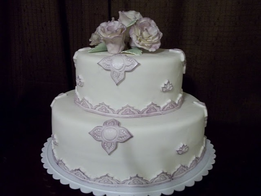 Victorian Rose Cake on Cake Central