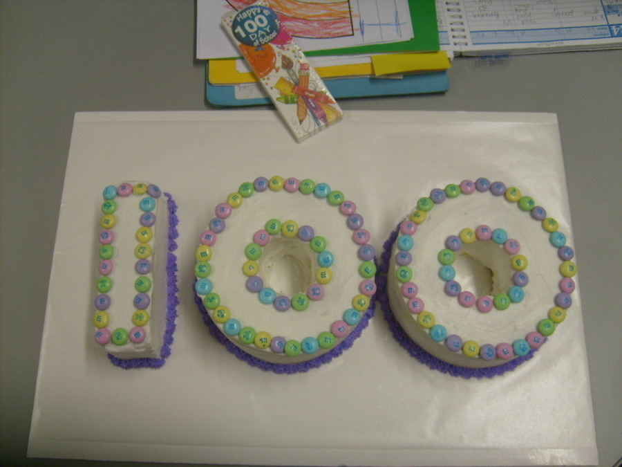 100 Days Of School Cake on Cake Central