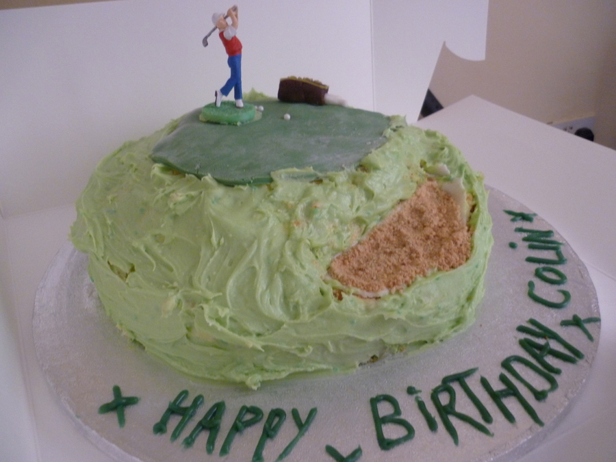 Golf Birthday on Cake Central