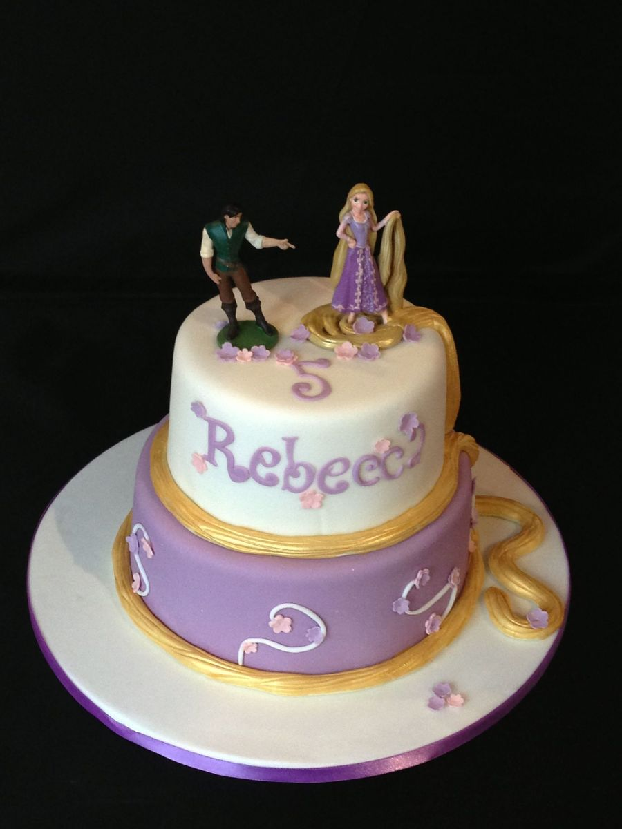 Rapunzel Tangled Cake Cakecentral Com