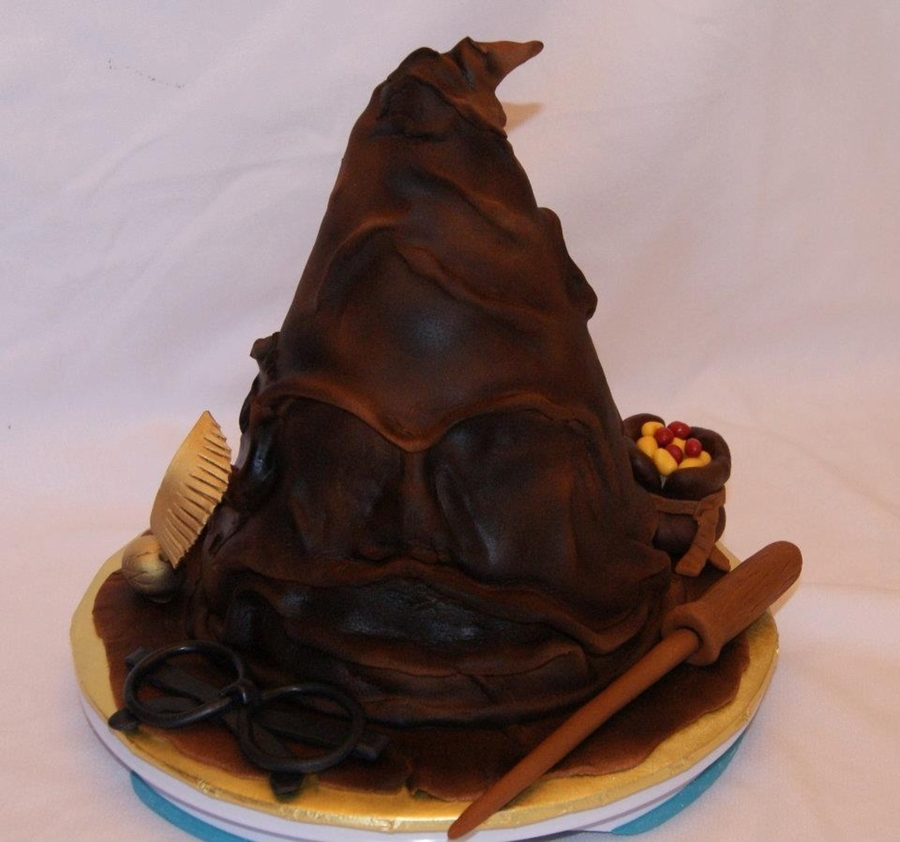 Sorting Hat Cake Recipe