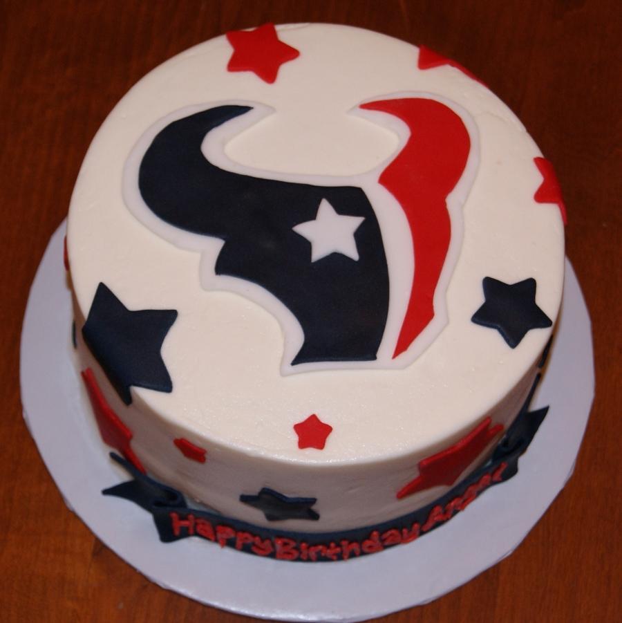 Texans Birthday Cake