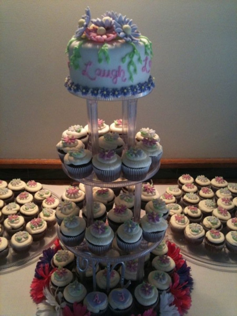 Cupcake Wedding on Cake Central