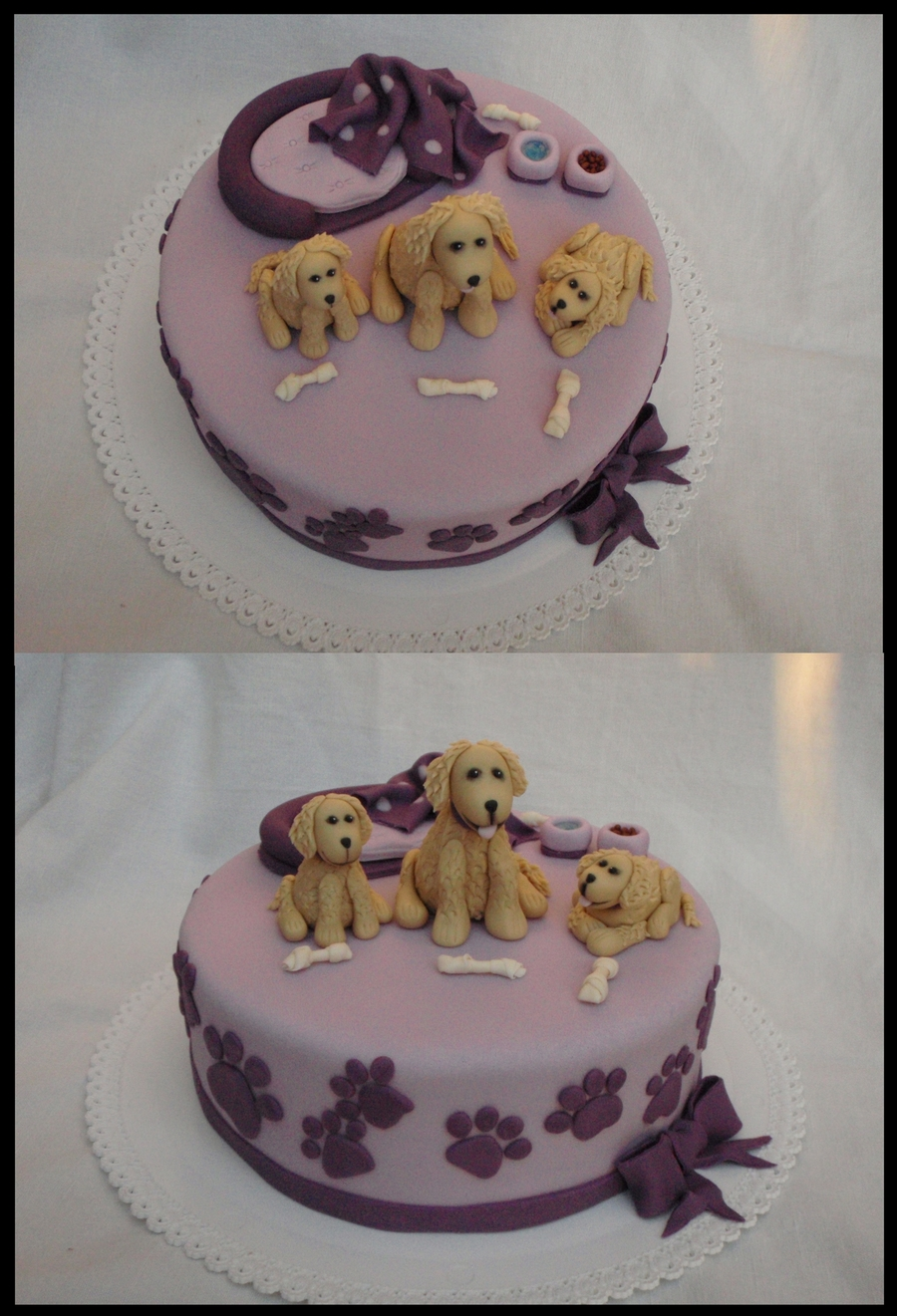 Golden Retrievers on Cake Central