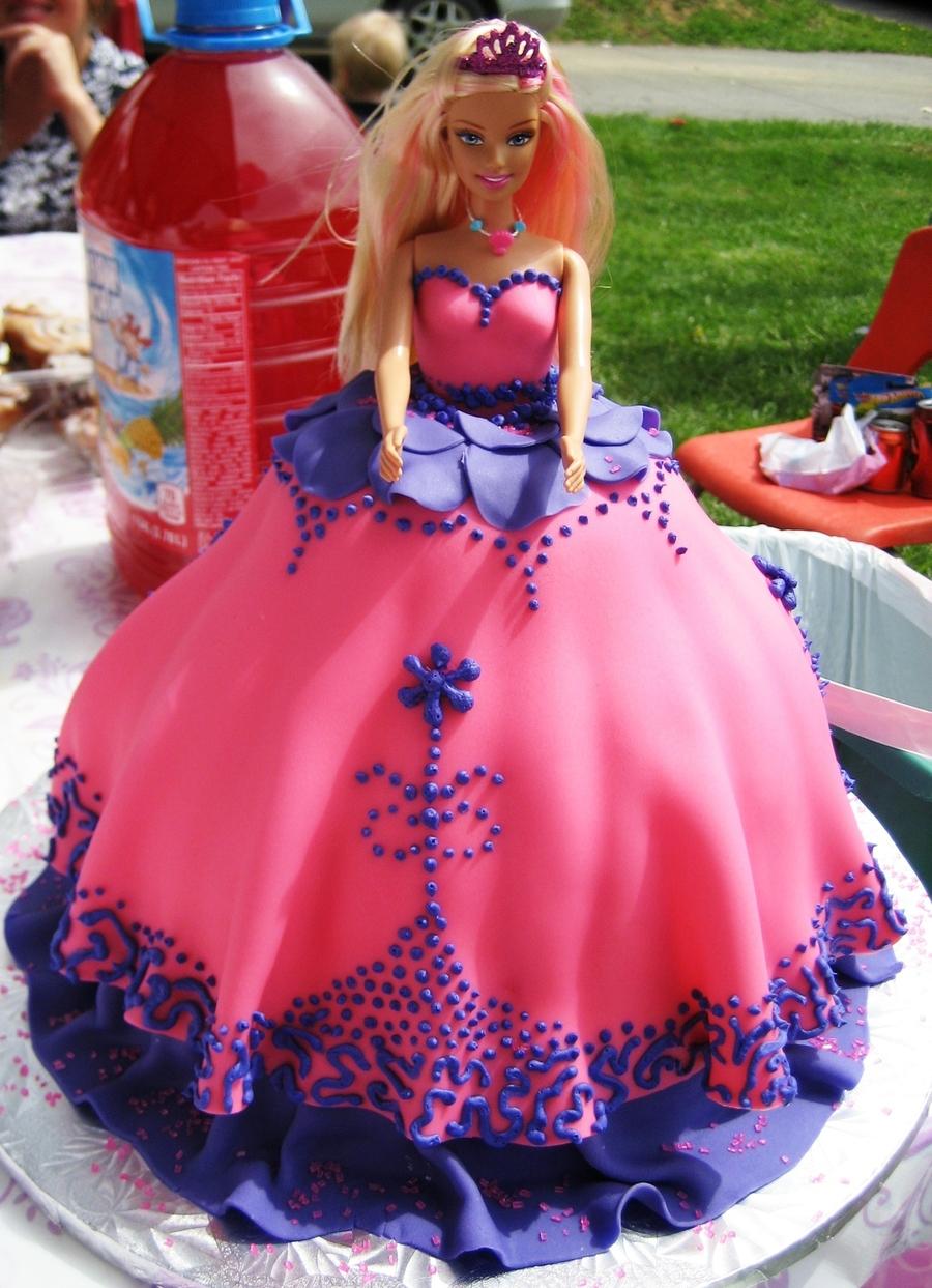 Barbie Princess Birthday Cake Cakecentral