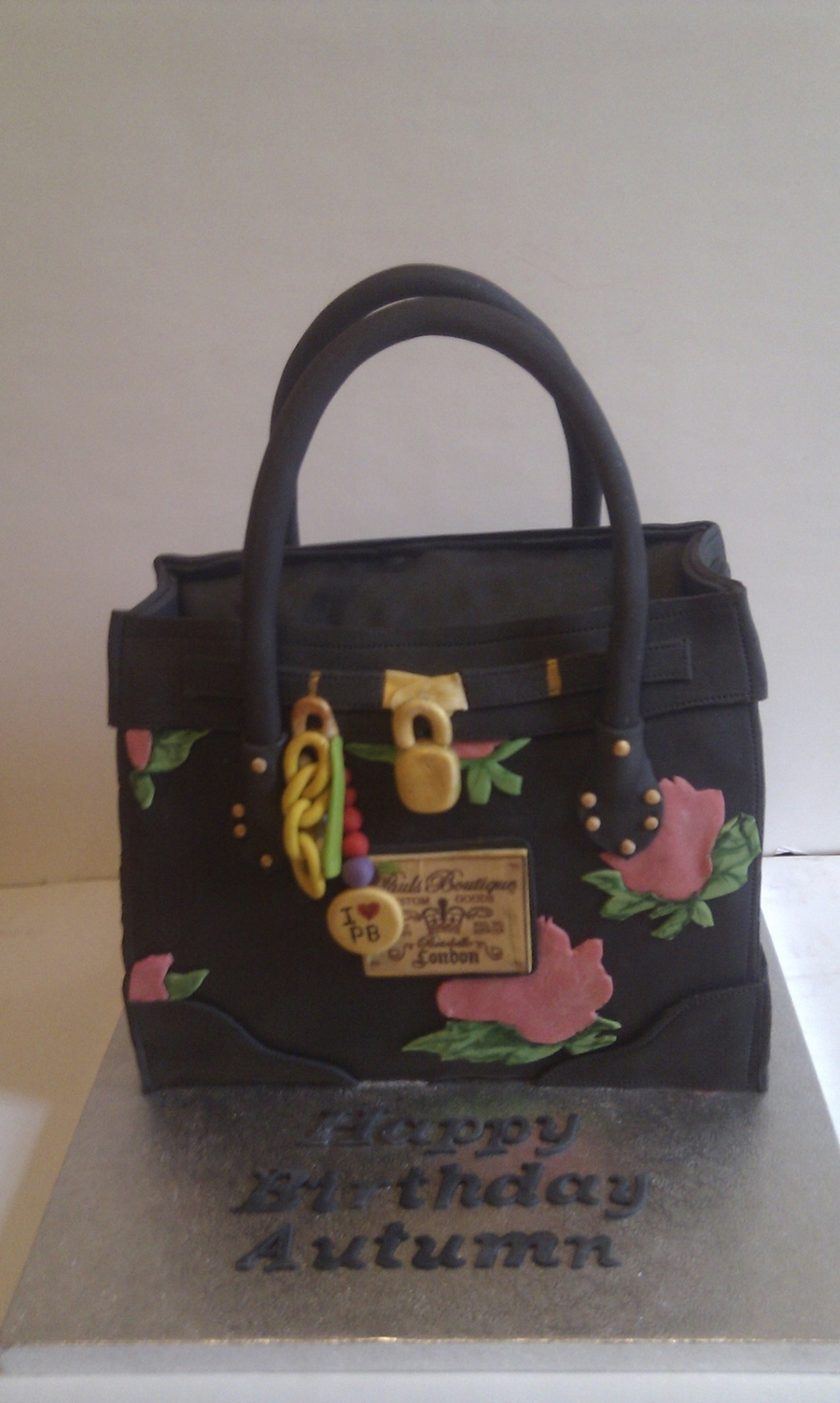 Pauls Boutique Bag on Cake Central