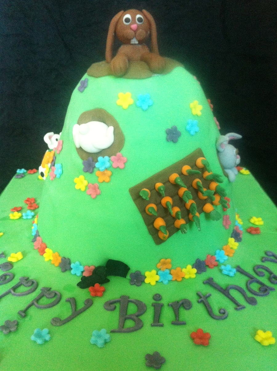 Rabbit Hill  on Cake Central