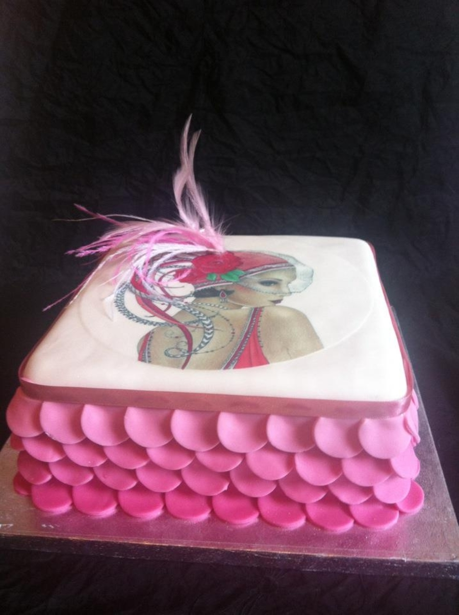 1920's Art Deco Style Cake on Cake Central