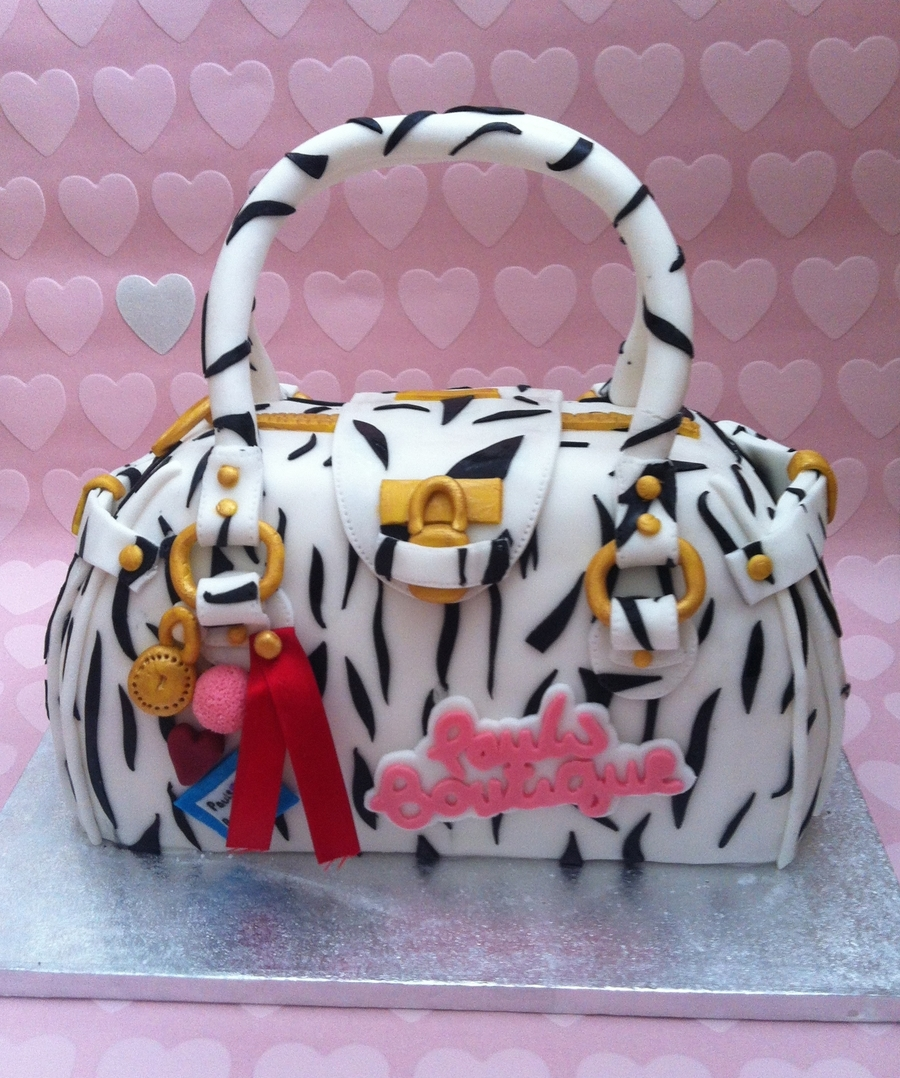 Pauls Boutique Bag Cake  on Cake Central