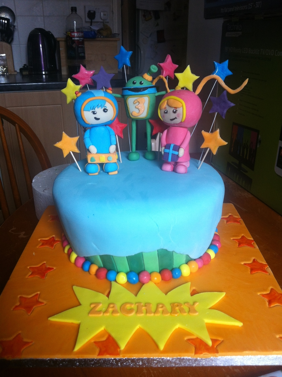 Team Umizoomi Cake Ideas