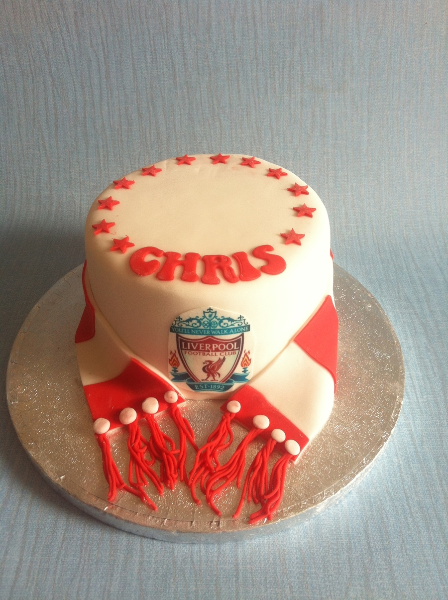 Mini Fathers Day Liverpool Cake on Cake Central