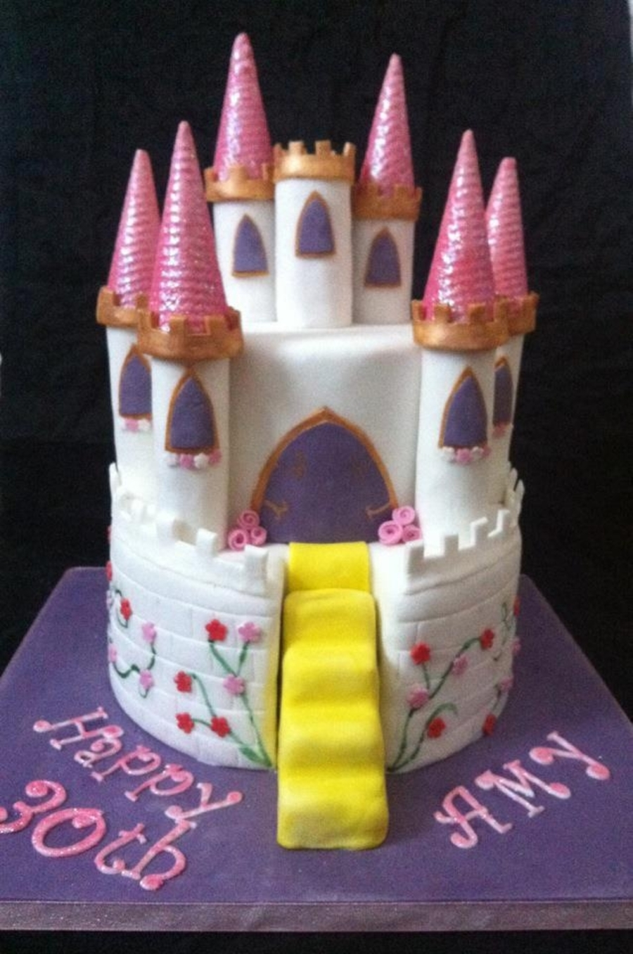 Another Castle Cake... on Cake Central