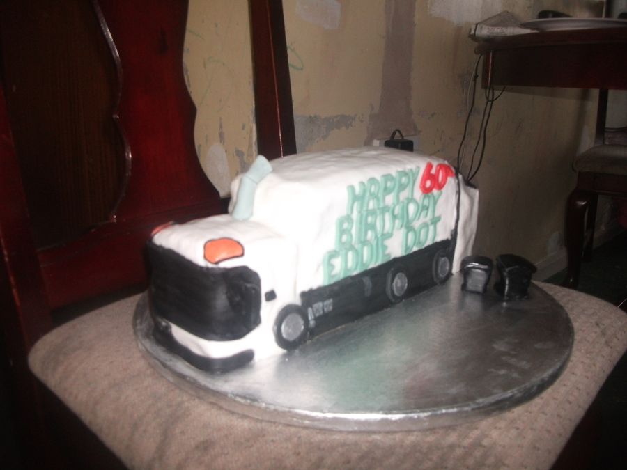 Bin Mans 60Th on Cake Central
