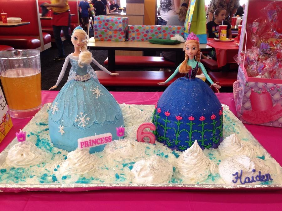 Disney Frozen Doll Cake Cakecentral Com