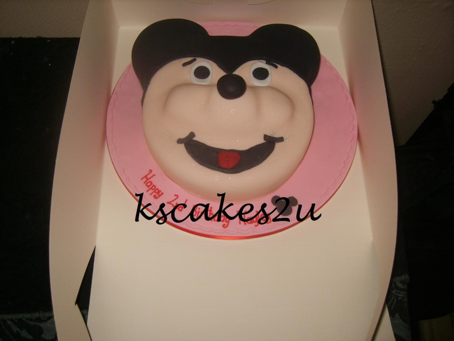 Mickey Mouse Birthday Cake on Cake Central