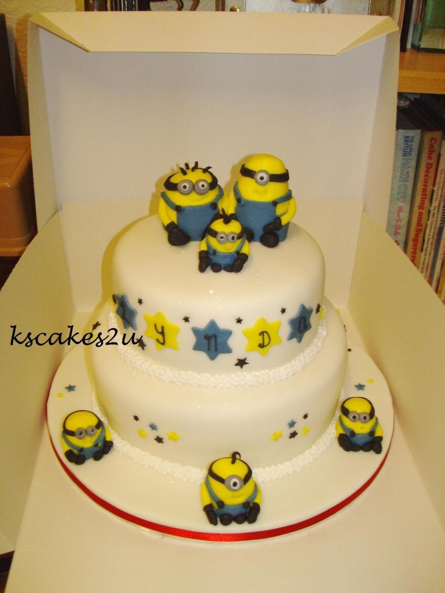 Despicable Me Minions Birthday Cake CakeCentralcom