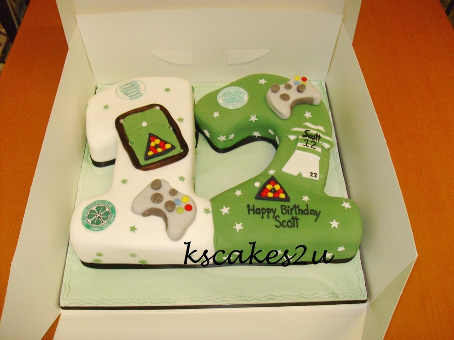 No 12 Boys Cake Cakecentral