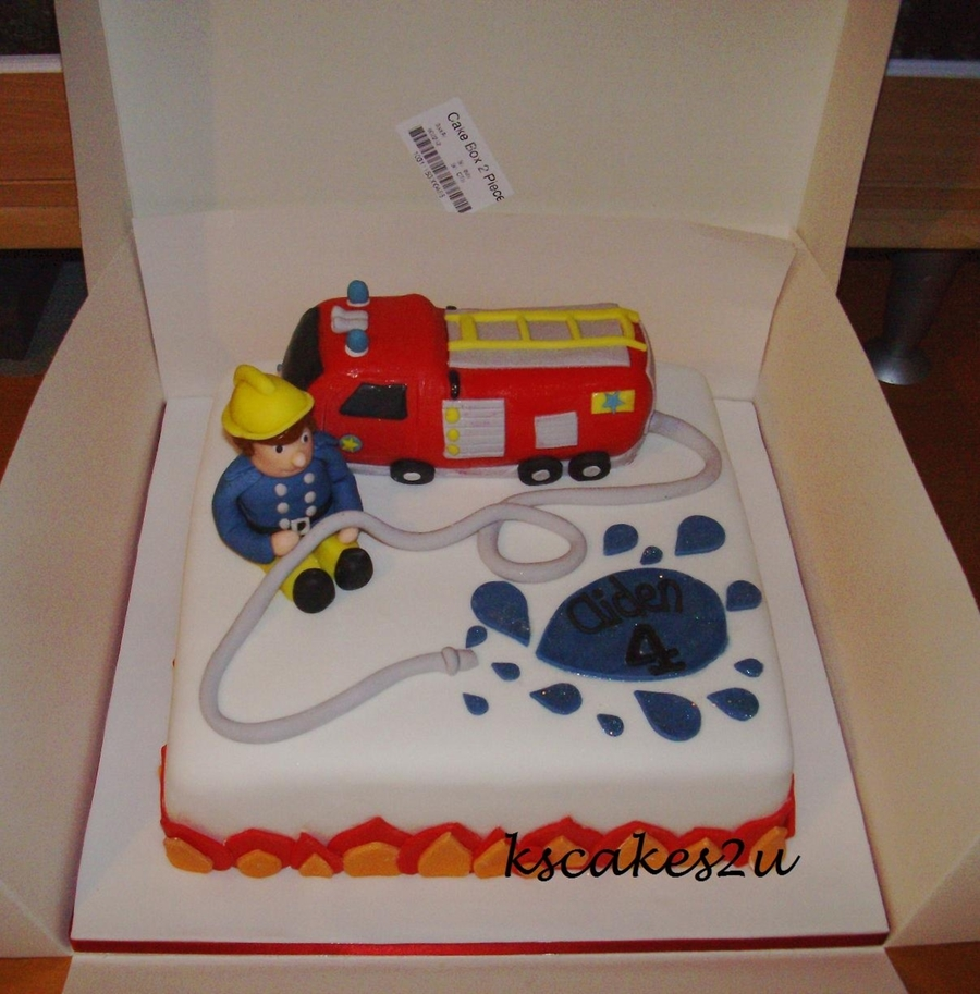 Fireman Sam Birthday Cake Cakecentral Com