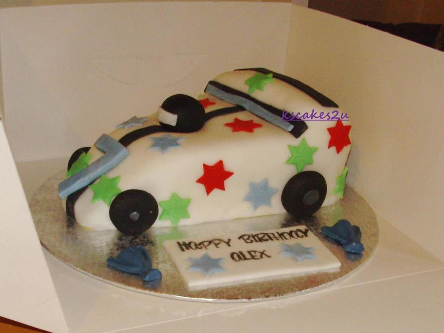 Stars Racing Car Cake on Cake Central