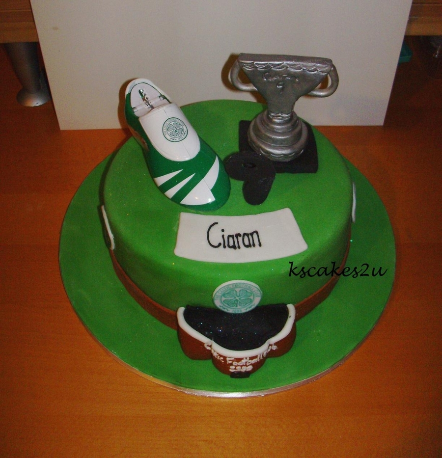 Celtic Football Cake
