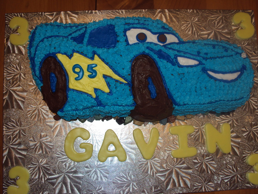Dynaco Lightening Mcqueen on Cake Central