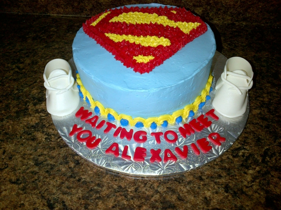 Superman Baby Shower? On Cake Central