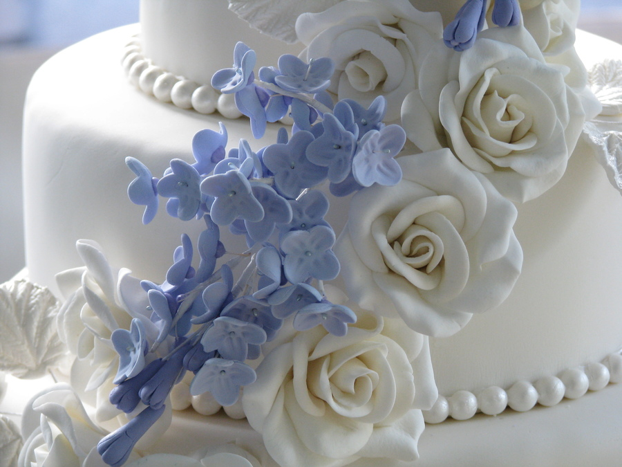 June Wedding Cake