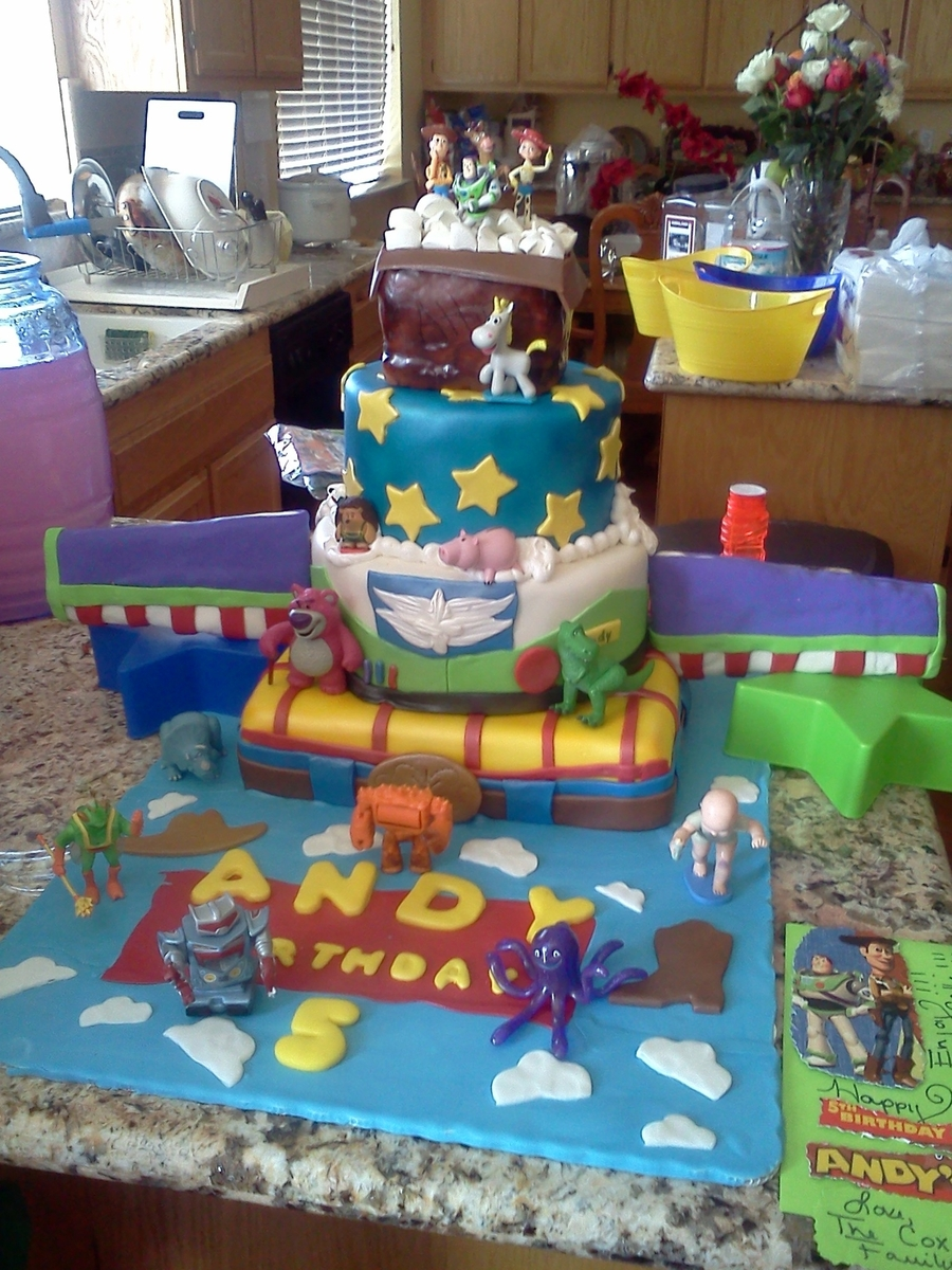 Toy Stoy Cake3 on Cake Central