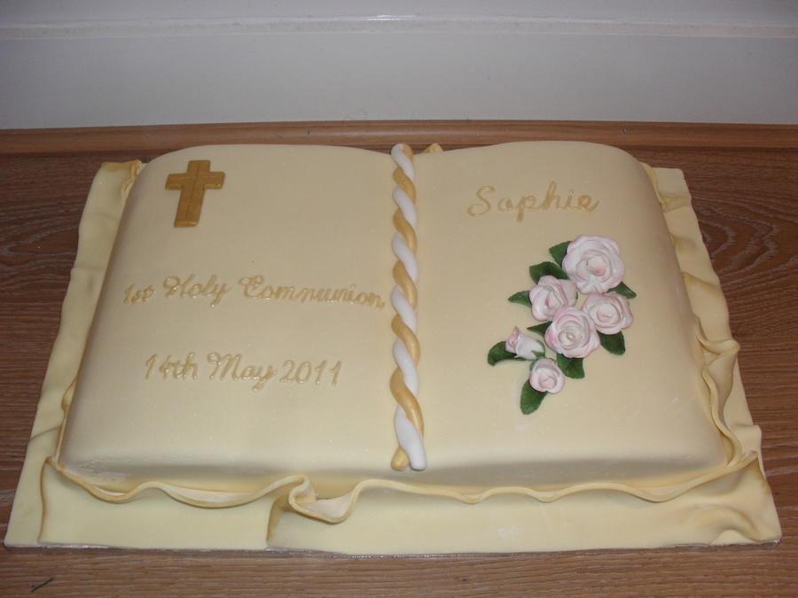 St Communion Cake Decorations