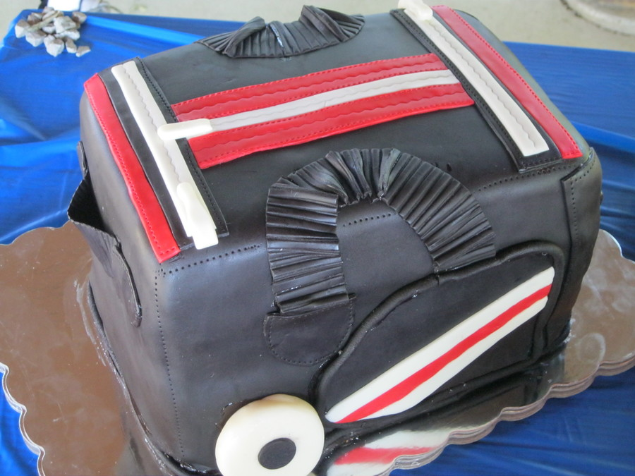 Hockey Bag on Cake Central