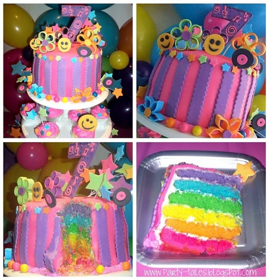 Fabulous 70S Disco Girl Birthday Cake Cakecentral Com Funny Birthday Cards Online Fluifree Goldxyz