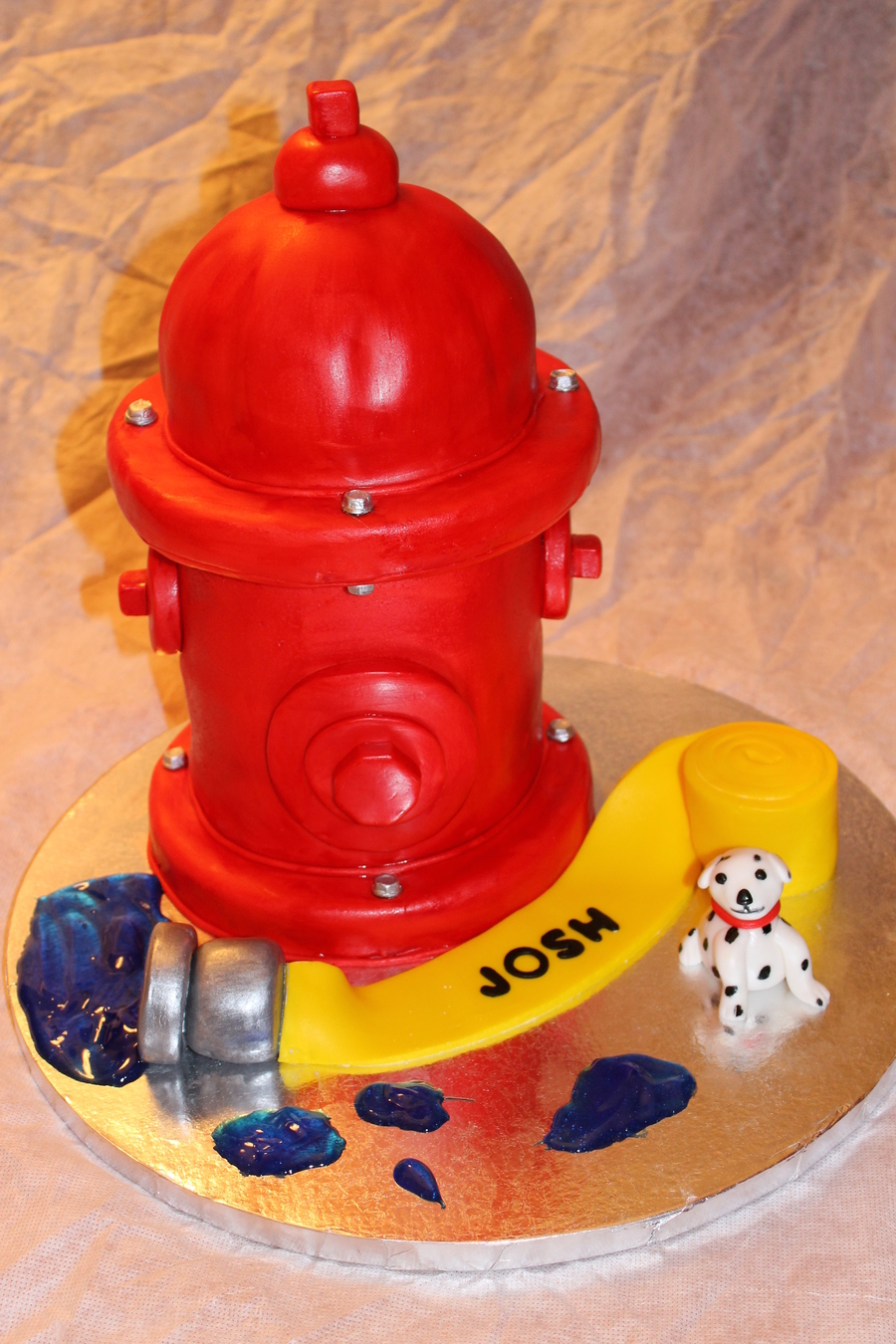 Fire Hydrant on Cake Central