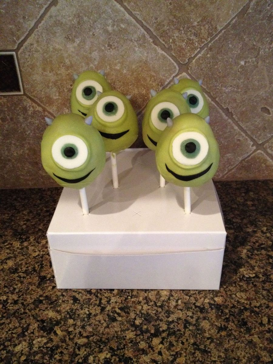 Mike Wazowski Monsters Inc On Cake Central