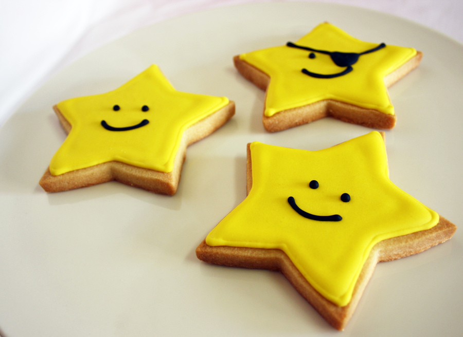 Star Cookies  on Cake Central