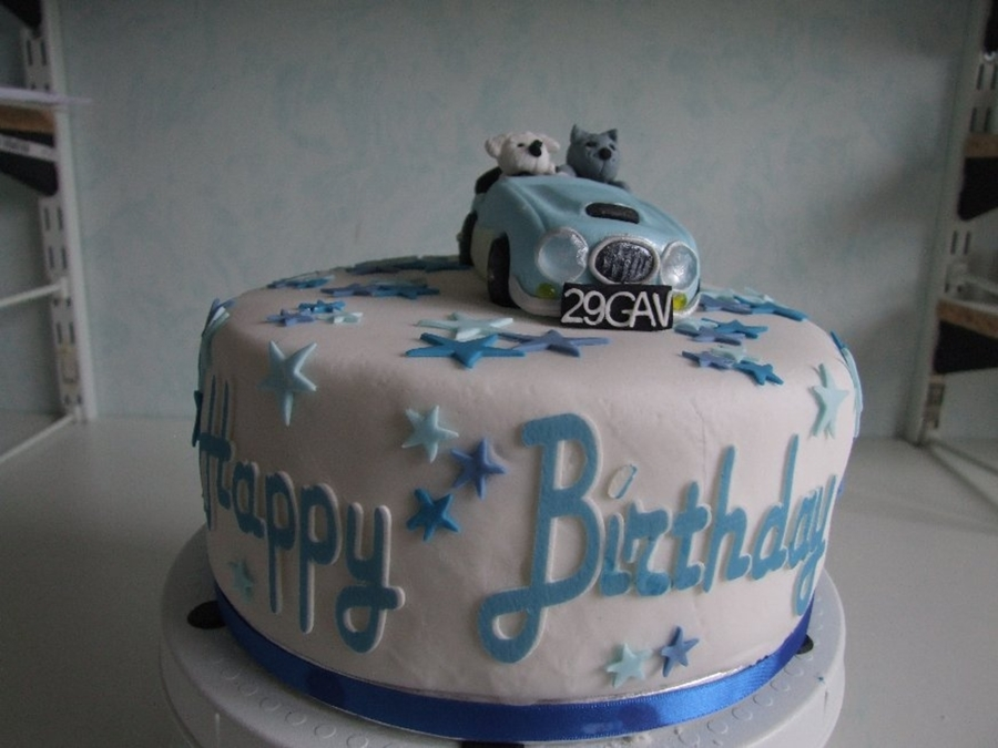 Pleasing Austin Healey Cake Cakecentral Com Funny Birthday Cards Online Necthendildamsfinfo