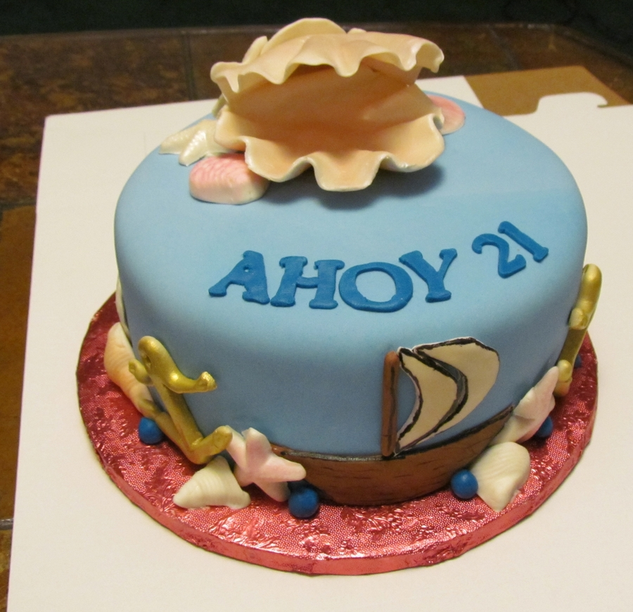 Ahoy 21 on Cake Central