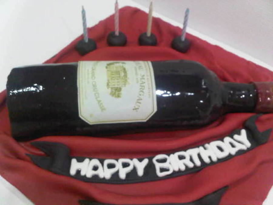 Chateau Margaux on Cake Central