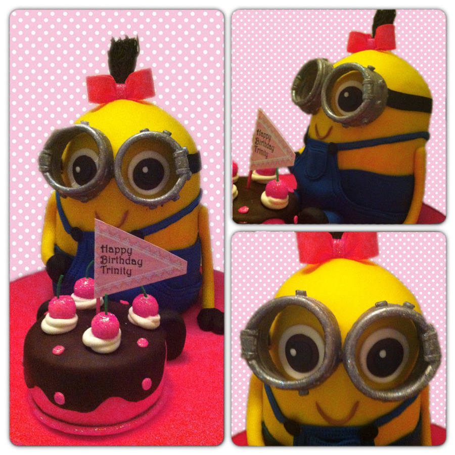 Minion10Sm on Cake Central