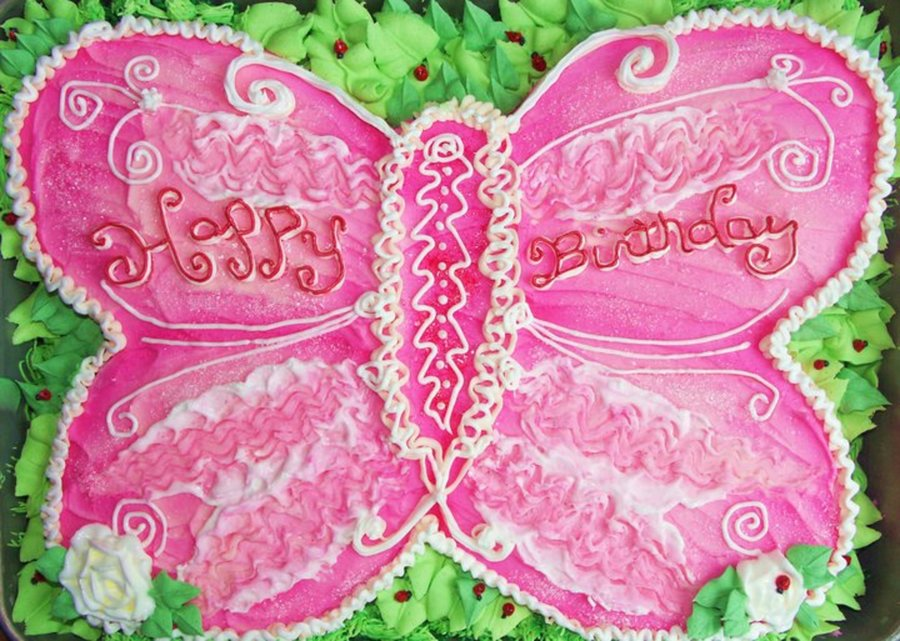 Butterfly Cake on Cake Central