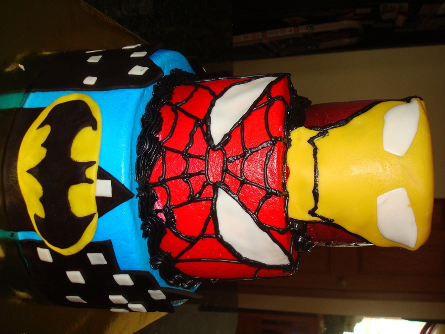 Super Heros To The Rescu on Cake Central