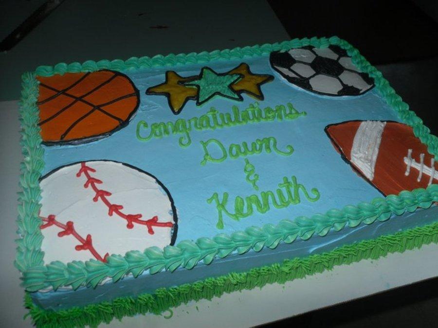 Baseball Themed Baby Shower Cake Ideas