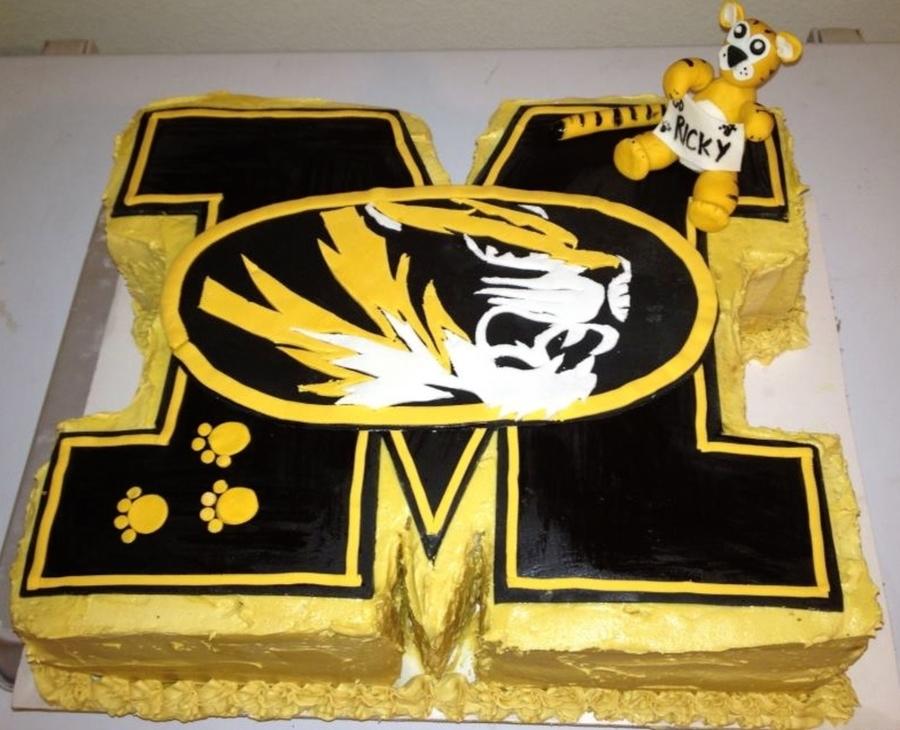 Mizzou Tiger Birthday Cake Cakecentral Com