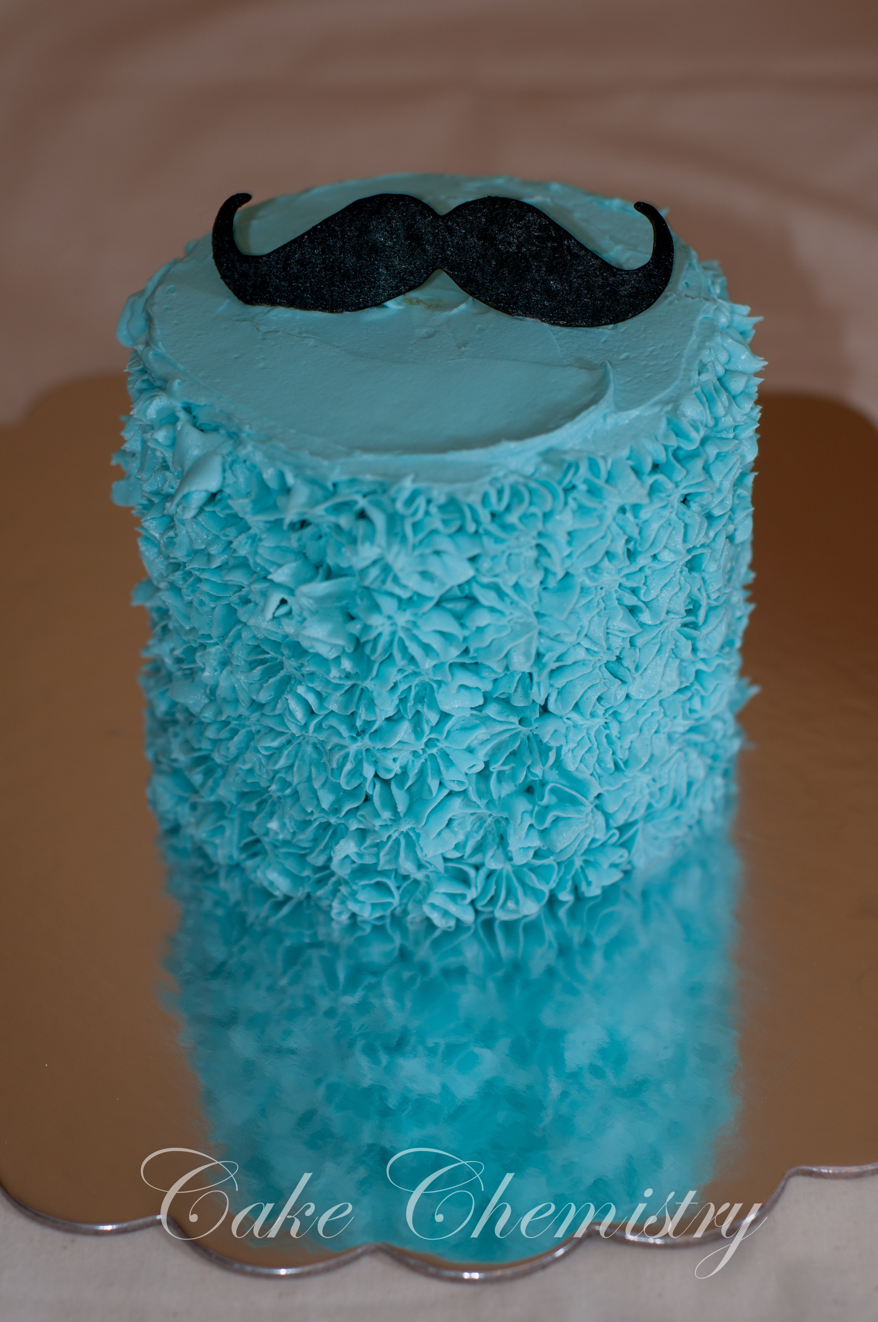 Gentlemans Mustache Cake With Top Hat And Smash Cake