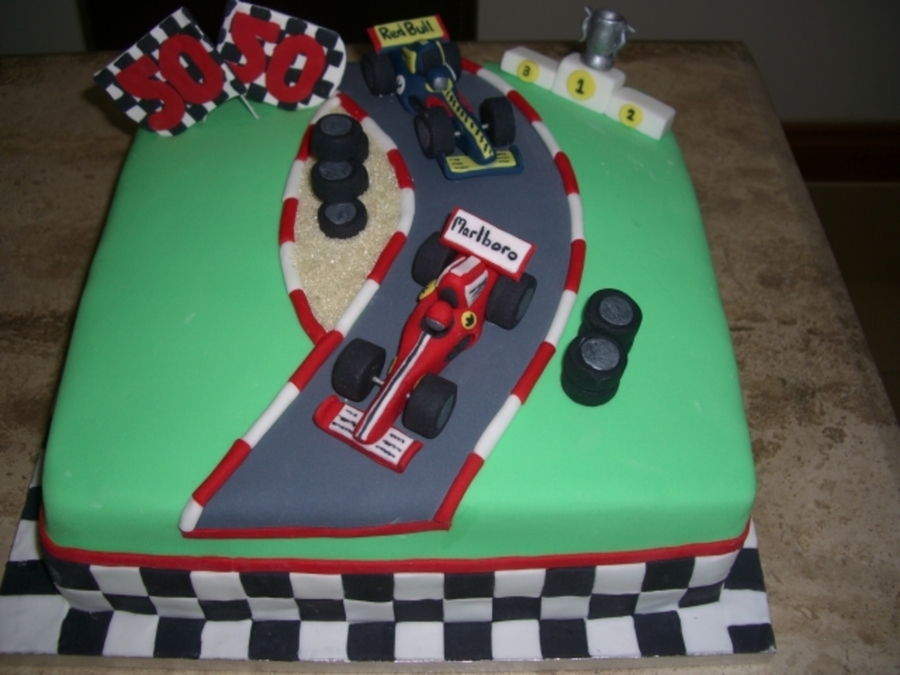 Race Car Birthday Cake Images